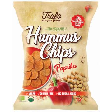 TRAFO Chipsy z ciecierzycy paprykowe BIO 75g