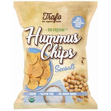 TRAFO Chipsy z ciecierzycy z solą morską BIO 75g