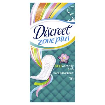 Discreet - Wkładniki higieniczne 16 szt. dopasowują się do ciała dzięki unikalnemu kształtowi.