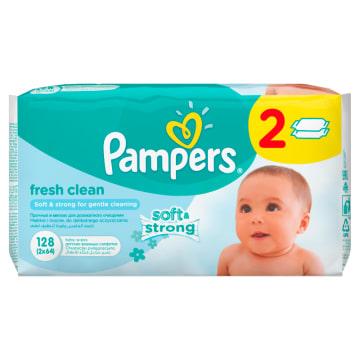 Chusteczki Pielęgnacyjne - Pampers Baby Fresh. Gwarancja ochrony i czystej skóry dziecka.