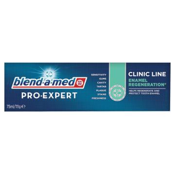 Blend-A-Med Pro-Expert Clinic Line - pasta do zębów. Ochrona i regeneracja szkliwa.