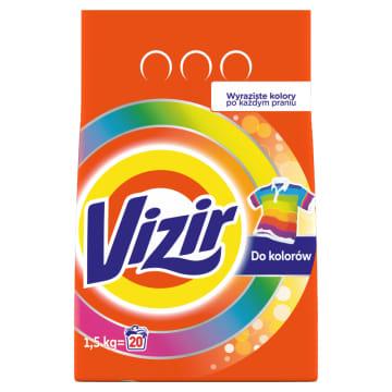 Proszek do prania tkanin kolorowych - Visir. Usuwa nawet trudne plamy i chroni kolor Twoich ubrań.