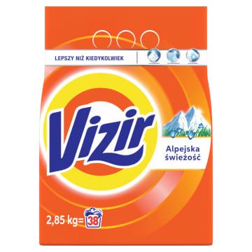 Proszek do prania bieli VIZIR ALPINE FRESH (40 prań) 3000g - usuwa wszelkie trudne zabrudzenia.