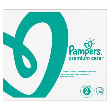 PAMPERS Premium Care Pieluchy Rozmiar 2 Mini (3-6kg) 240 szt 1szt