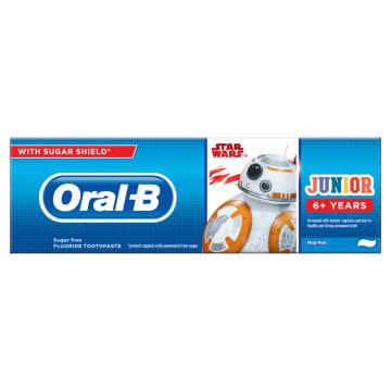 """ORAL-B Junior Pasta do zębów dla dzieci 6+ lat """"Gwiezdne wojny"""" 75ml"""