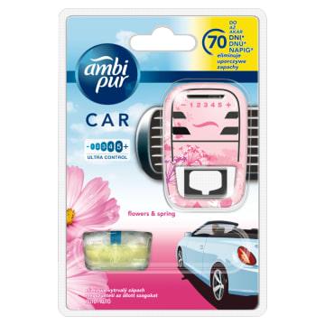 AMBI PUR CAR Samochodowy odświeżacz powietrza Flowers & Spring - zestaw 1szt