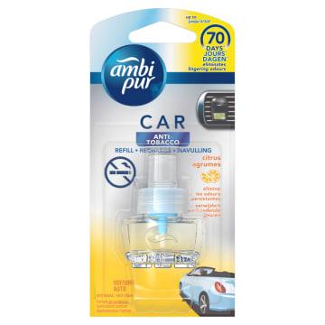 AMBI PUR CAR Anti Tobacco Samochodowy odświeżacz powietrza Citrus - wkład 1szt