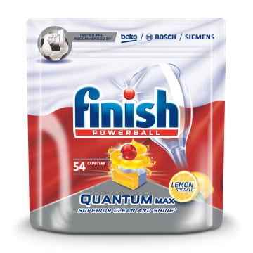 FINISH Quantum MAX Tabletki do zmywarek - Lemon 54 szt. 837g