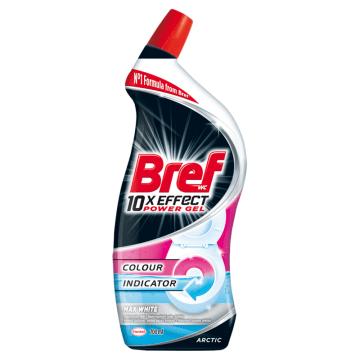 BREF 10xEffect Power Gel Płynny środek do mycia muszli WC maksymalna biel 700ml