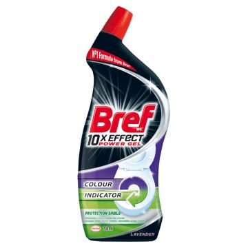 BREF 10xEffect Power Gel Płynny środek do mycia muszli WC maksymalna ochrona 700ml