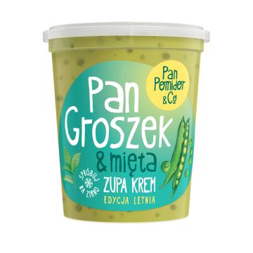 PAN POMIDOR&CO Pan Groszek&Mięta Zupa krem 400g