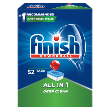 FINISH All in 1 Tabletki do zmywarki  52 szt. 1 szt