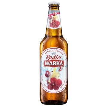 WARKA Radler Piwo w butelce Malina i Cytryna 500ml