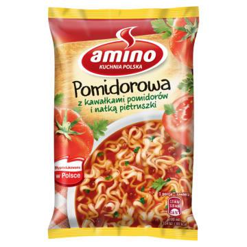 Zupa błyskawiczna - Pomidorowa - Amino