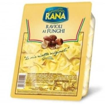 Raviolo z borowikami - Rana. Szybkie danie o niezwykłych walorach smakowych.