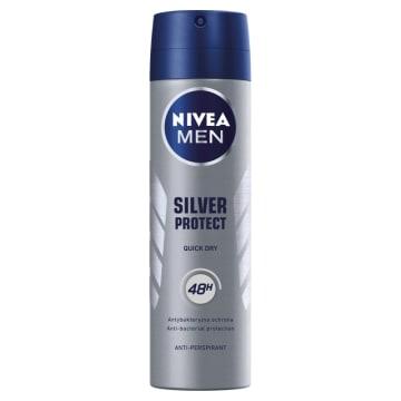 Nivea Men - Antyperspirant w sprayu 150ml pomaga zachować suchość przez cały dzień.