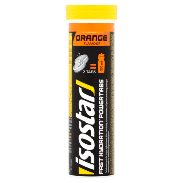 Tabletki o smaku pomarańczowym - Isostar. Gwarancja dobrego smaku i doskonałego wpływu na organizm.