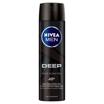 NIVEA MEN Deep Antyperspirant w sprayu 150 ml