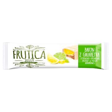 FRUTICA Jelly Baton zbożowy z galaretką cytrynowo-limonkową w polewie jogurto. 40g