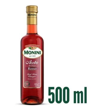 Ocet winny czerwony 500 ml- Monini to całkowicie naturalny produkt.
