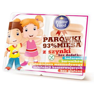 GOODVALLEY Parówki z szynki dla dzieci bezglutenowe 200g
