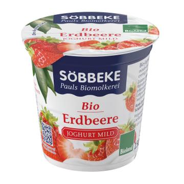 Jogurt truskawkowy BIO -Sobbeke o zawartości tłuszczu 3,8% to zdrowa przekąska dla każdego.