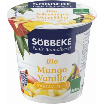 Jogurt z mango i wanilią - Sobbeke