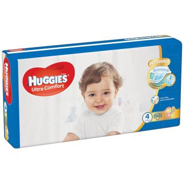 HUGGIES Ultra Comfort Pieluchy Rozmiar 4 (8-14kg) 50 szt. 1szt