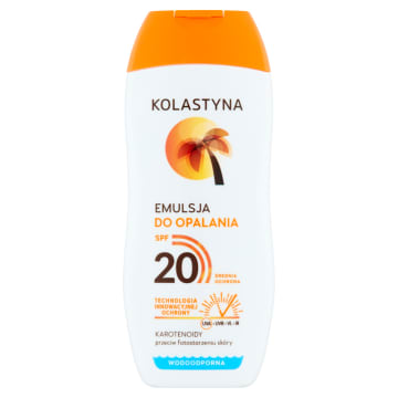 KOLASTYNA SUN Care Emulsja do opalania SPF20 150 ml