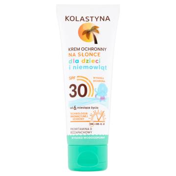 KOLASTYNA SUN Care Krem ochronny na słońce dla dzieci i niemowląt SPF30 75ml