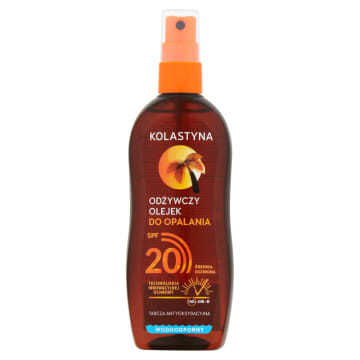 KOLASTYNA SUN Care Odżywczy olejek do opalania SPF 20 150 ml