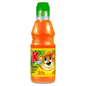 Kubuś Go! - Sok z warzyw i owoców banan-marchew-jabłko. Zdrowa przekąska w formie soku.