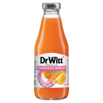 Napój marchwiowo-pomarańczowy - Dr Witt Równowaga. Pyszny i zdrowy produkt.
