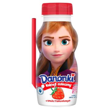 DANONE Danonki Mleko fermentowane o smaku truskawkowym 185g