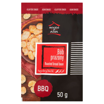 HOUSE OF ASIA Bób prażony BBQ 50 g