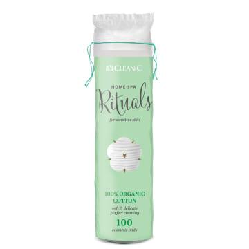 CLEANIC Home Spa Rituals Płatki kosmetyczne Organic 100 szt. 1szt