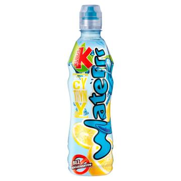 Kubuś - Waterrr o smaku cytryny. Krystalicznie czysta woda z nutą cytyny.