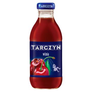 Tarczyn Nektar wiśniowy to doskonały sok owocowy w poręcznej butelce.