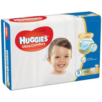 HUGGIES Ultra Comfort Pieluchy Rozmiar 5 (12-22kg) 42 szt. 1szt