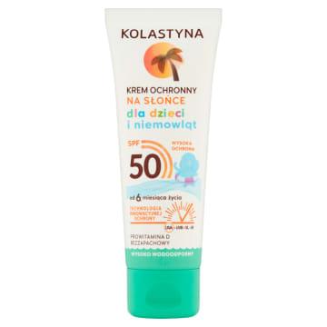 KOLASTYNA SUN Care Krem ochronny na słońce dla dzieci i niemowląt SPF50 75ml