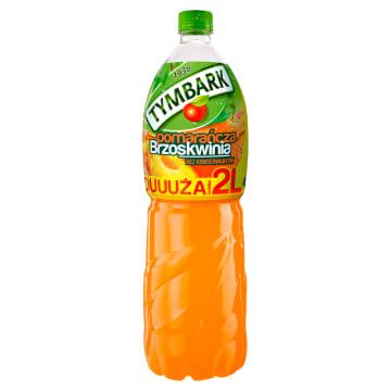Tymbark-Napój pomarańcza-brzoskwinia 2000 ml. Wyprodukowany z soków zagęszczanych.
