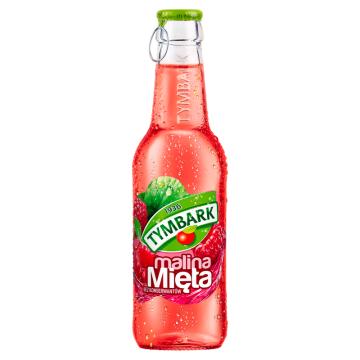 Tymbark – Napój owocowy miętowo-malinowy to słodki niegazowany napój, który skutecznie orzeźwia.