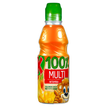Sok multiwitamina 100% 300ml - Kubuś