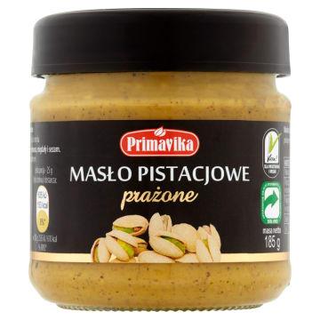 PRIMAVIKA Masło pistacjowe prażone 185g