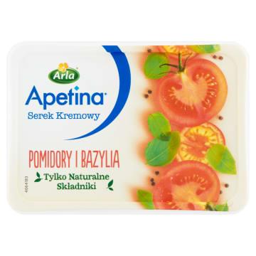 Apetina Serek kremowy z pomidorami i bazylią ARLA 125g - wykwintny, o świetnym smaku i konsystencji.