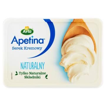 Kremowy serek naturalny Apetina – Arla to delikatny serek ze składników najwyższej jakości.