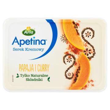 Serem kremowy z papają i curry - Arla. Wyjątkowe połączenie egzotycznych składników.