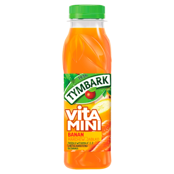 TYMBARK VITAMINI Sok Banan marchew jabłko PET 300 ml