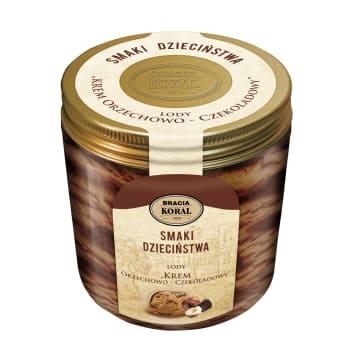BRACIA KORAL Smak dzieciństwa Krem orzechowo - czekoladowy 450ml