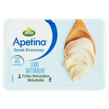 ARLA Apetina Serek kremowy lekki naturalny 125g